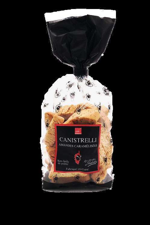 canistrelli amandes caramelisées 250gr