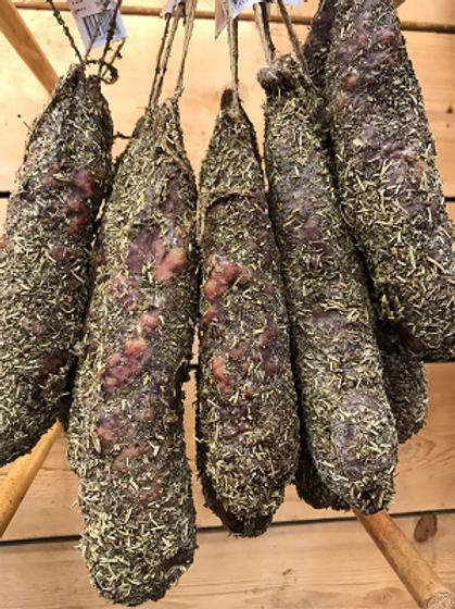 Saucisse aux herbes du maquis Corse