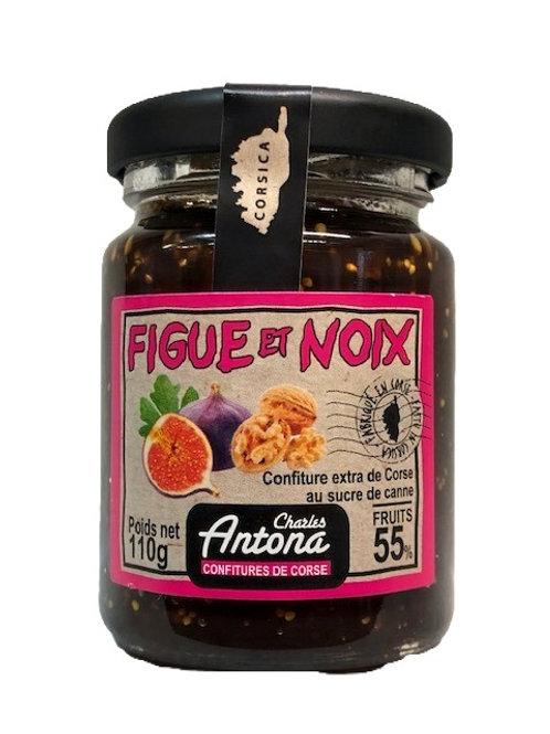 Confiture de Figue et noix 110gr