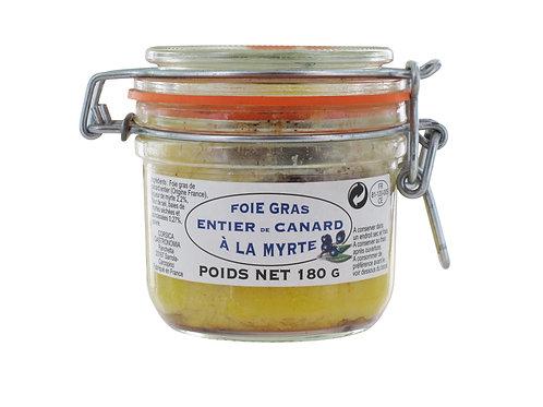 Foie gras à la myrte
