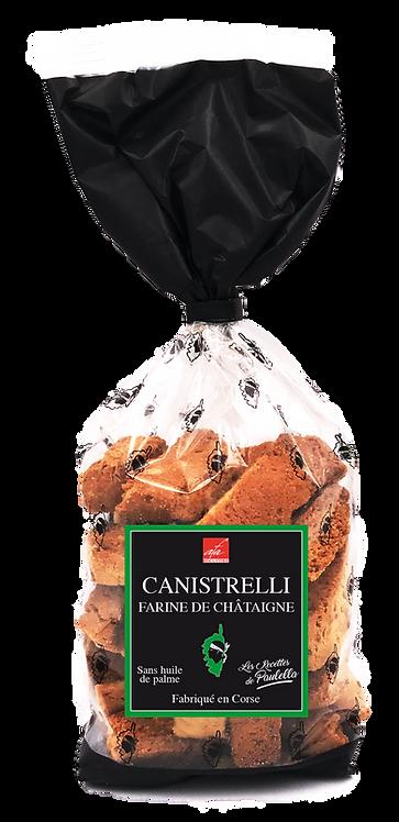 Canistrelli farine de châtaigne 250gr