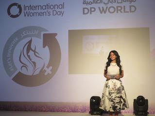 Rania Ali Presenting DP World Women's Day
