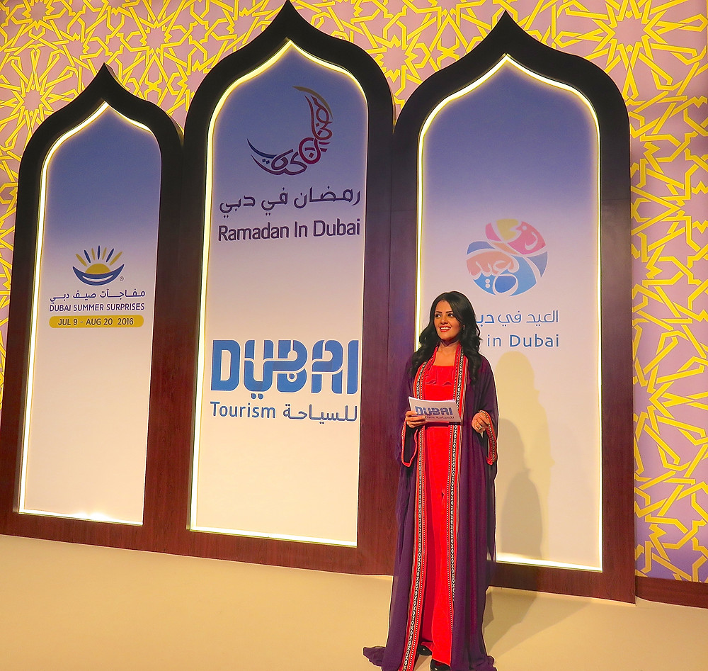 Arabic MC Live Event Presenter UAE