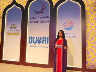 Rania Ali Presenting the launch of Modhess World & unveill of Dubai Summer Surprises
