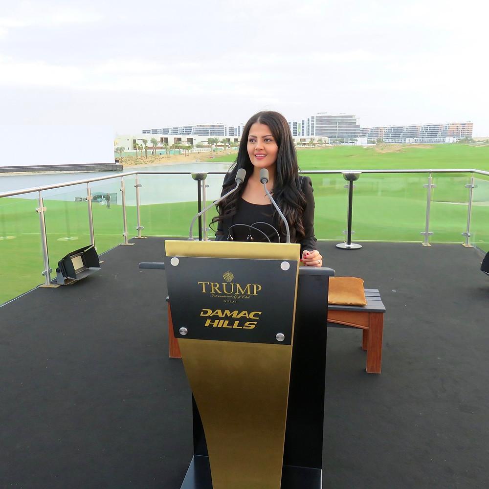 Rania Ali presenting