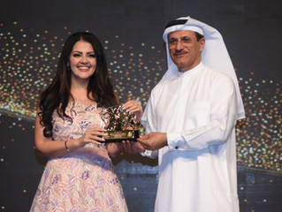 Rania Ali Awarded by the UAE Ministry of Economy