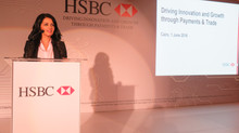 Rania Ali Presenting for HSBC in Cairo, Egypt