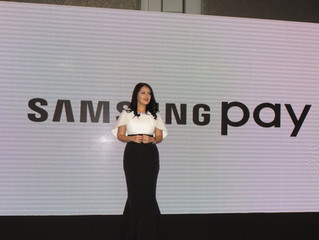 Rania Ali Presenting & moderating the launch of Mobile Payments Service, Samsung Pay technology