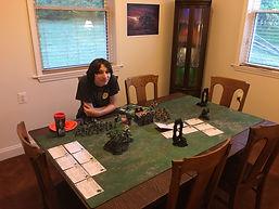 Warhammer Gaming Room