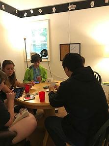Teens in Gaming Room