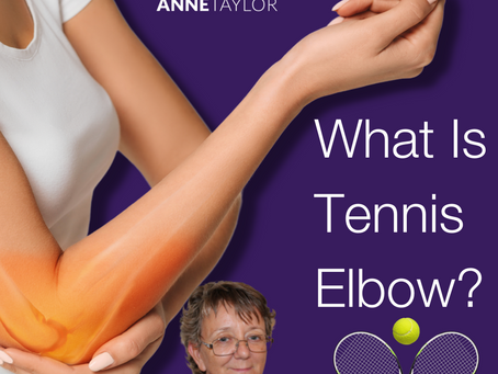 Tennis elbow is on my mind right now!