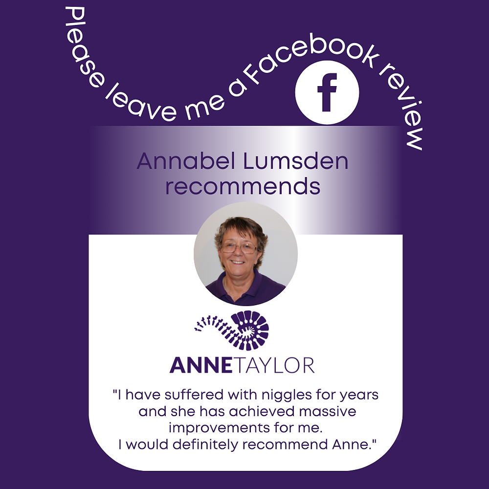 Anne Taylor Morecambe pain massage