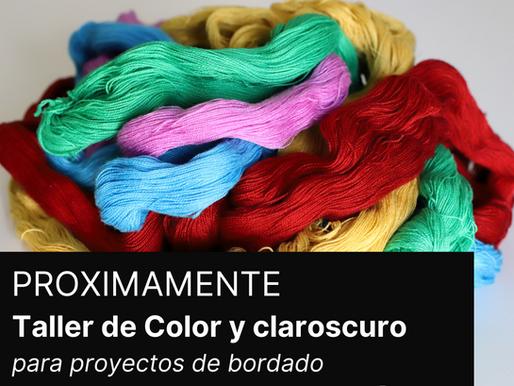 Color y claroscuro para proyectos de bordado  - Taller