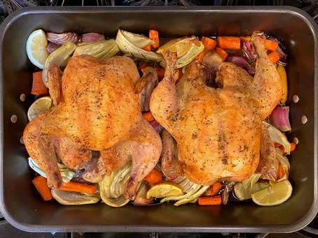 Weekend Roast Chicken