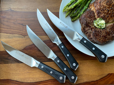 Steaks, Herb Butter, and Cutluxe Knives