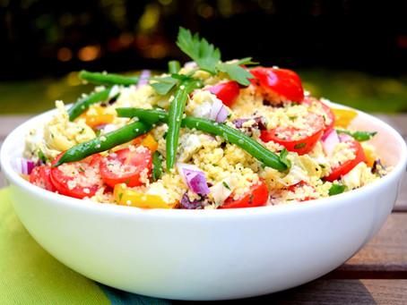 Mediterranean Style Couscous Salad