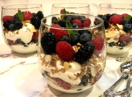 Berry Delicious Yogurt Parfaits