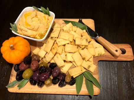 Pumpkin-Sage Ricotta Spread