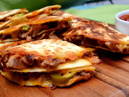 Favorite Pork Quesadillas