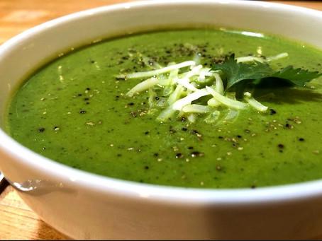 Season's End Zucchini Soup
