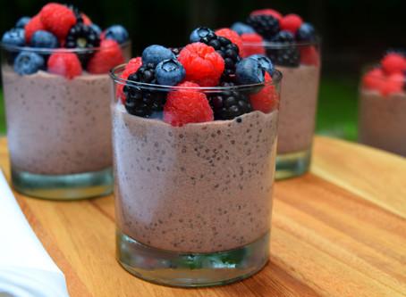 Acai Fruity Chia Pudding