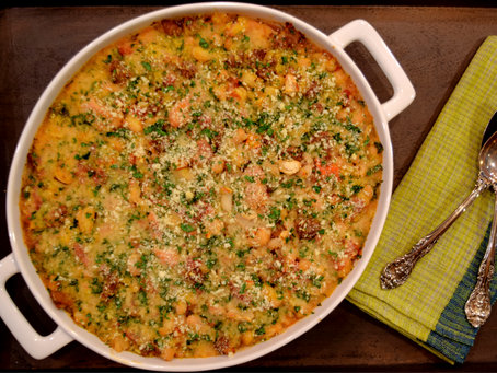 Easy Chicken and Sausage Cassoulet