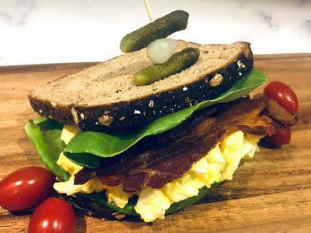 Egg Salad Sandwich, My Way