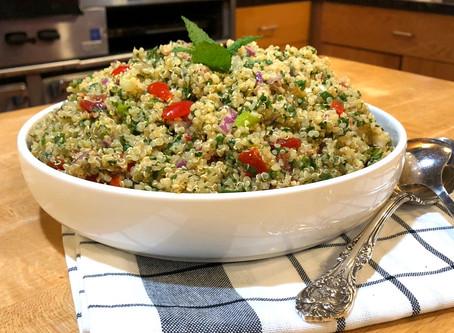 Quinoa and Kale Tabouli
