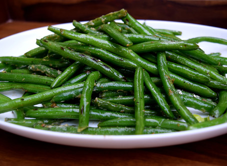Miso Butter String Beans