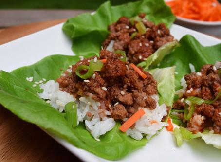 Gochujang Lettuce Wraps
