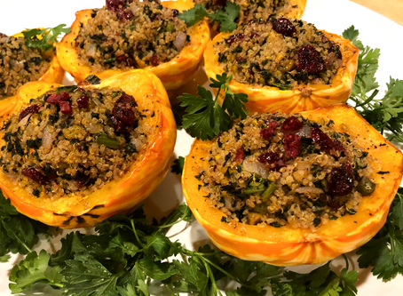 Thanksgiving Stuffed Squash
