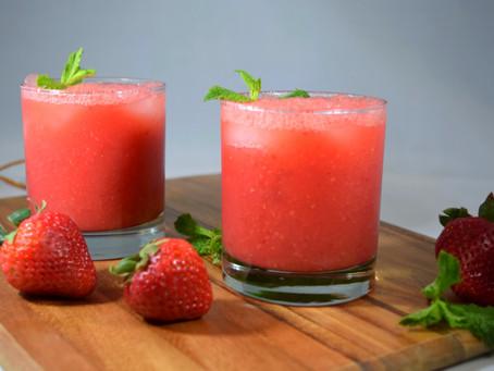 Watermelon-Strawberry Cooler