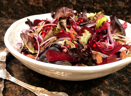 Ruby Red Salad
