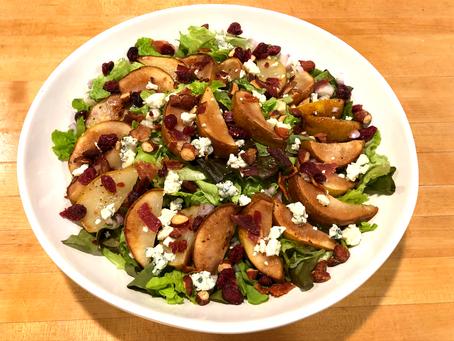 Roasted Pear Salad