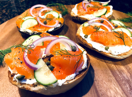 New York Bagels and Lox