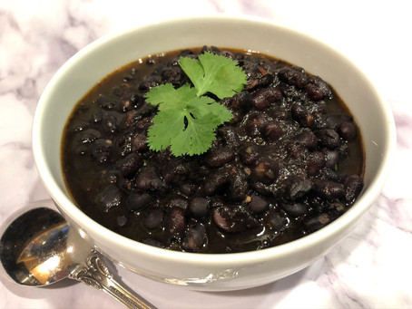 """Instant"" Black Beans"