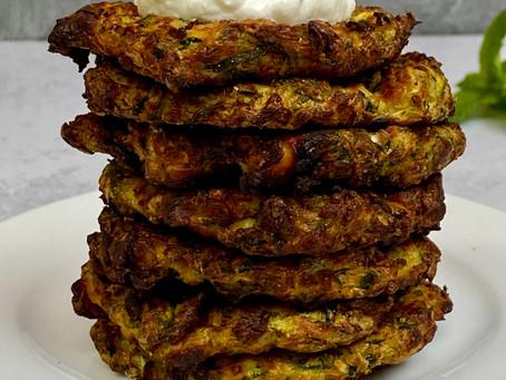 Air Fryer Zucchini Fritters
