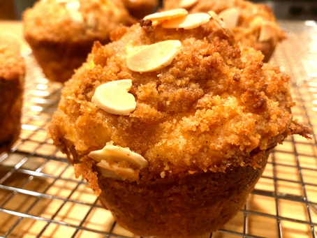 Ginger Muffins with Squash and Cranberries