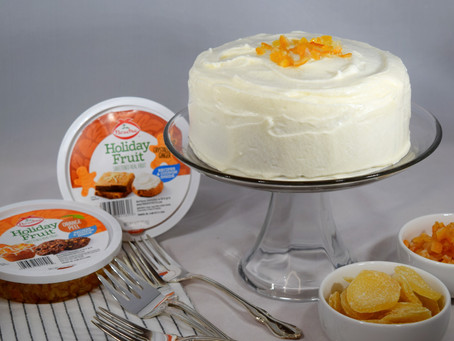 Carrot Cake with Orange and Ginger