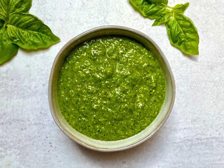 Kale and Arugula Pesto
