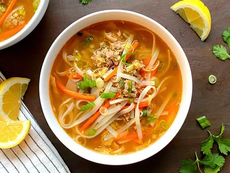 Vietnamese Style Meatball Soup
