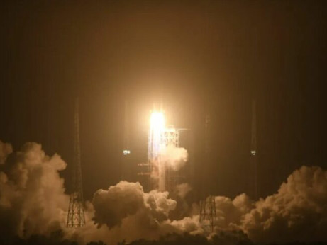 China successfully launches new Long March 7A on second attempt
