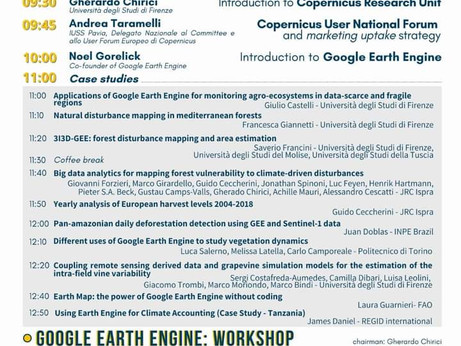 Introduction of Google Earth Engine