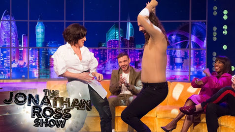 Jonathan Van Ness and Shirley Ballas Have A Boogie