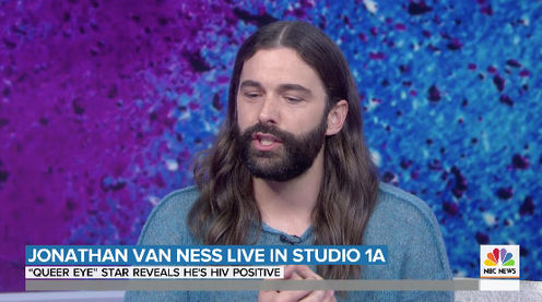 Jonathan Van Ness opens up about decision to reveal HIV diagnosis