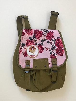 Haversack with Roses