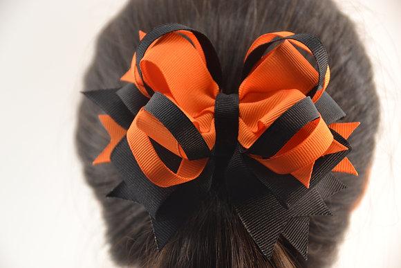 Headband, bow and barrettes, set of three