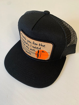 Kurt Cobain Quote Pocket Hat