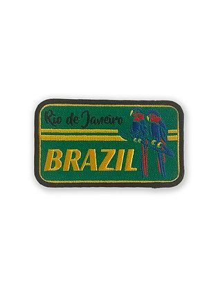 Rio de Janeiro Brazil Patch