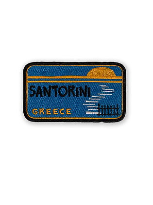 Santorini Greece Patch
